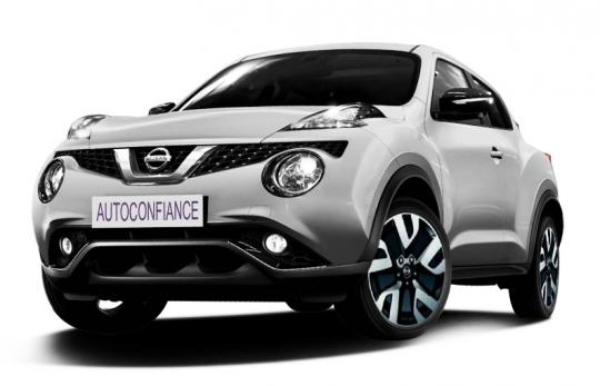 nissan nouveau juke 4x2 tekna dig t 190 cv gris perle. Black Bedroom Furniture Sets. Home Design Ideas