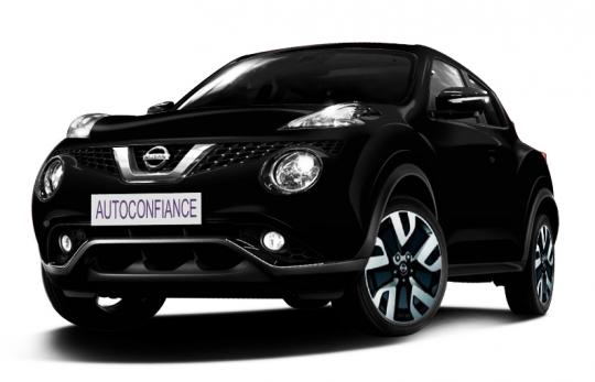 nissan nouveau juke 4x2 tekna 1 6 l xtronic 117 cv noir. Black Bedroom Furniture Sets. Home Design Ideas
